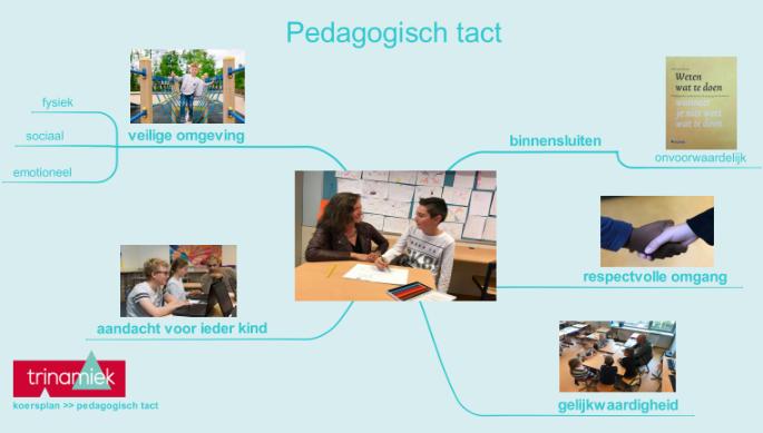 Koersplan Trinamiek - Pedagogisch tact